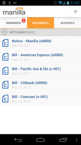 Manilla Android App - Documents
