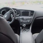 Kia Optima Hybrid – Review - G Style Magazine - interior - dashboard