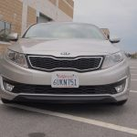 Kia Optima Hybrid – Review - G Style Magazine - exterior - grill - headlights - bumper