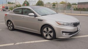 Kia Optima Hybrid – Review - G Style Magazine - Car side exterior