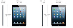 Apple iPad Mini Specs and Dimensions - Analie Cruz - Technology