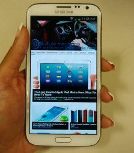 Samsung Galaxy Note II - Smartphone - ANALIE_CRUZ