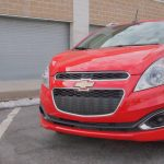 Chevy Spark 2 LT - G Style Magazine - exterior - front - grill - head lights