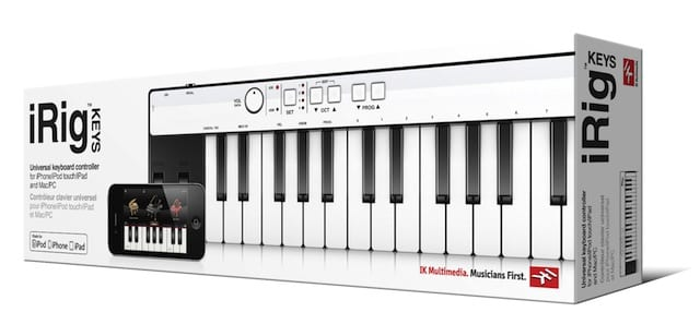 iRig-KEYS in the Box