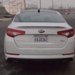 Kia Optima SXL - rear - exterior - bumper - lights - g style magazine