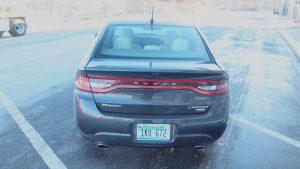 2013 Dodge Dart Limited Rear Lights / Bumper