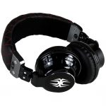 Spider headphones - black - over the ear - 1
