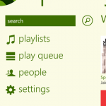 Spofity App - Windows Phone 8