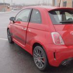 2013 Fiat 500 Abarth rear exterior Driver Side