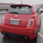 2013 Fiat 500 Abarth rear exterior