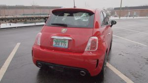 2013 Fiat 500 Abarth - rear - exterior - lights - trunk - Automobile - Review