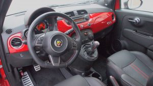 2013 Fiat 500 Abarth - Dashboard - Steering Wheel - Interior - Automobile - Review