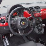 2013 Fiat 500 Abarth Driver Steering Wheel Dash