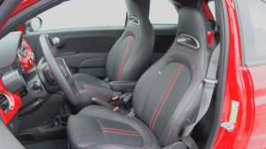 2013 Fiat 500 Abarth - seats - side view - Interior - Automobile - Review