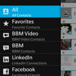 BlackBerry Z10 Tip: How to Hide Unwanted Social Network Entries in Contacts App - G Style Magazine 1