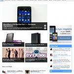 Browser - G style magazine - BB Z10