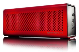 Braven 570 Wireless Bluetooth Speaker Review - Ports / Buttons - G Style Magazine - red