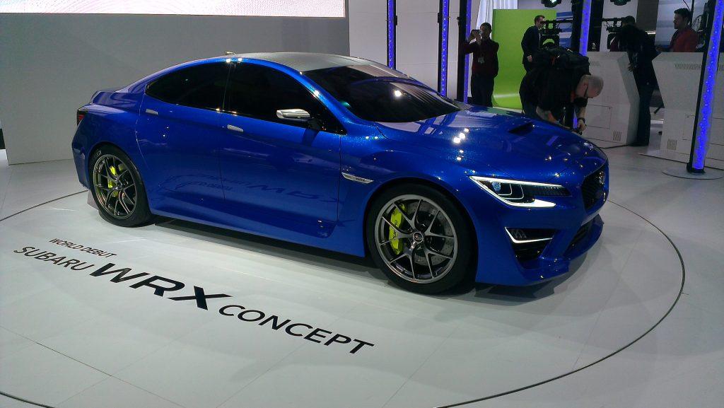 New York International Auto Show - G Style Magazine - Subaru WRX Concept