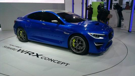 New York International Auto Show - G Style Magazine - Subaru WRX Concept Car