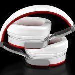 Ferrari Scuderia R300 Noise Canceling Headphones Logic3 - G Style Magazine - folded