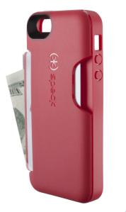 Speck SmartFlex Card Case for iPhone 5 - Pomodoro Red - Analie