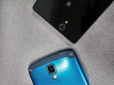 Samsung Galaxy S4 Active v.  Sony Xperia Z camera