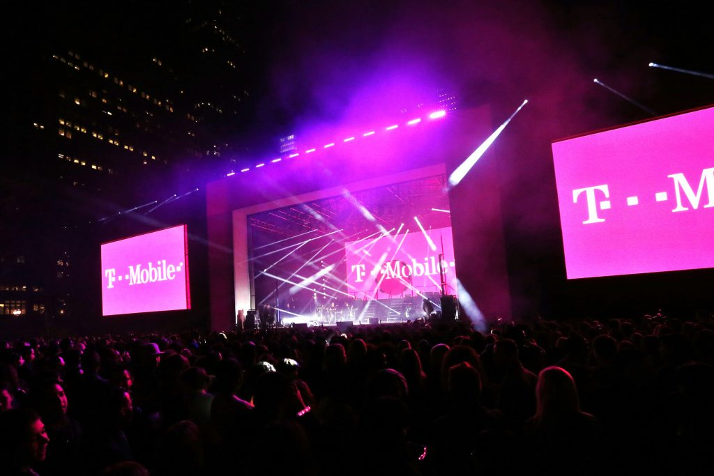 T-Mobile Un-carrier 3.0 Event in Bryant Park