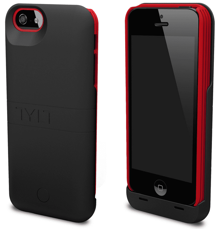 TYLT Energi Sliding Power Case Review iPhone 5 5S and Cases G Style Magazine- Red