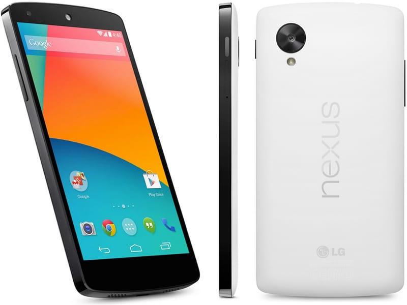 Google Nexus 5 by LG smartphone -  Holiday Gift Guide Smartphones - Analie Cruz