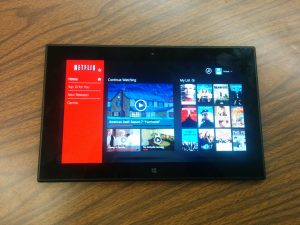Nokia Lumia 2520 : Windows 8 Tablet Review - Netflix