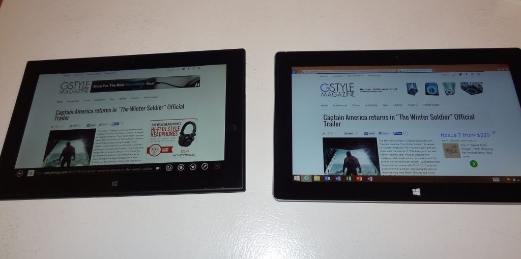 Surface 2 v. Nokia 2520 (2)
