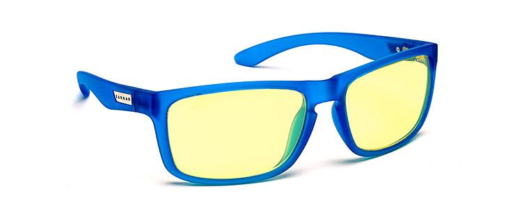 Gunnar Intercept Color Collection Eyewear- Gunnar Optiks- cobalt - 1