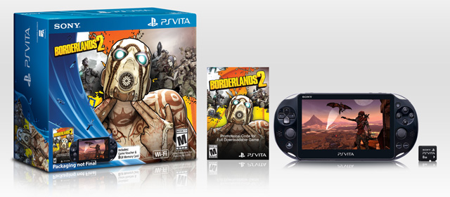 PS-Vita-2000-Bundle Borderlands 2 Bundle - Sony PlayStation Vita
