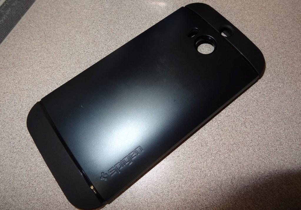 HTC One M8 Spigen Slim Armor Case (1)