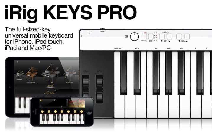 iRig Keys Pro  - G Style Magazine
