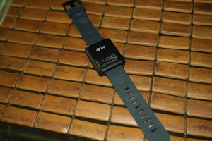 LG G Watch Back