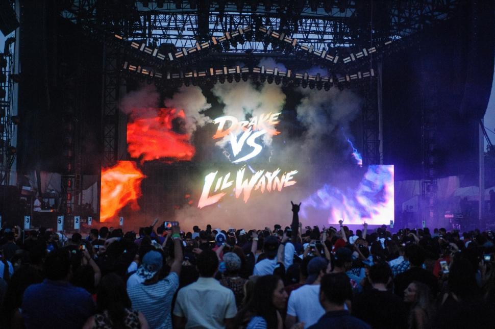 Drake Vs. Lil Wayne Forest Hills Stadium (1)