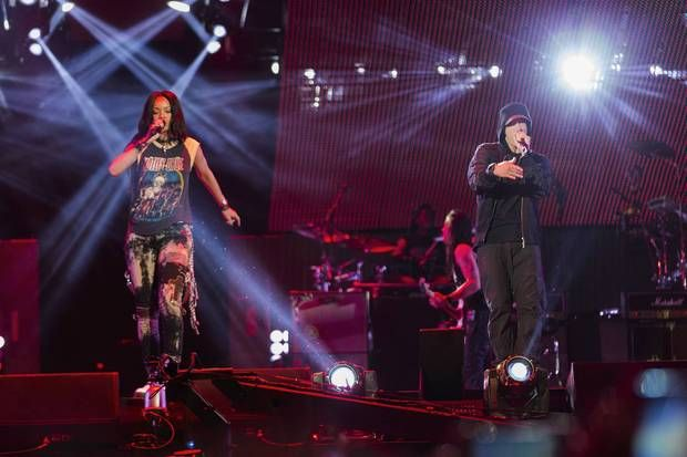 Eminem X Rihanna MetLife Stadium