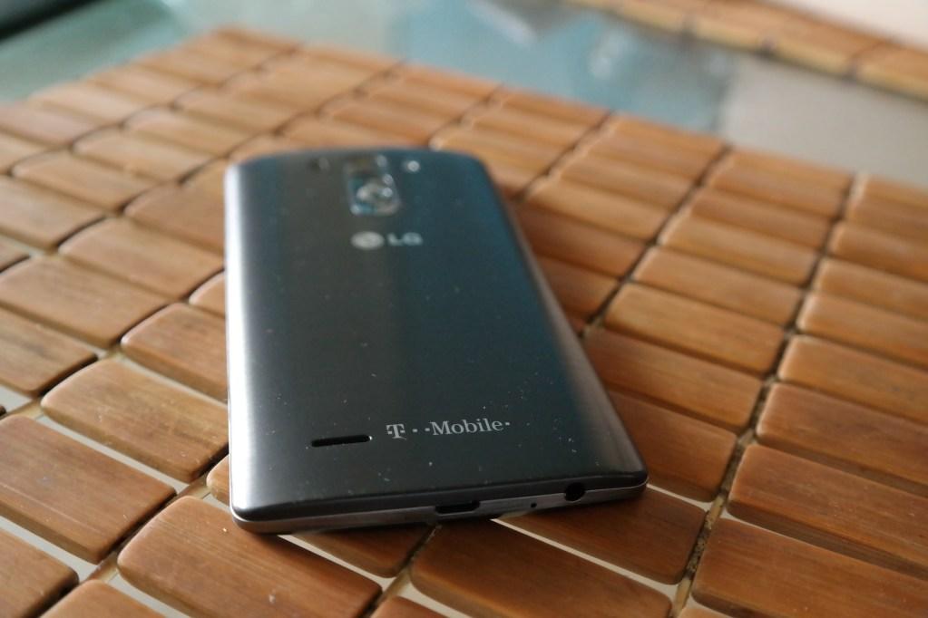 LG G3 Back Angle
