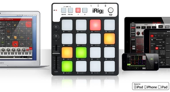 iRig Pad in the Middle