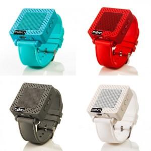 Stocking Stuffers - BEM Wireless Speaker Wristband 4 Colors