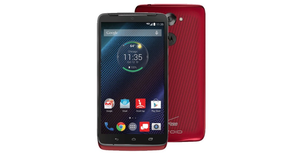 Top Smartphones Holiday Gift Guide - Motorola Droid Turbo