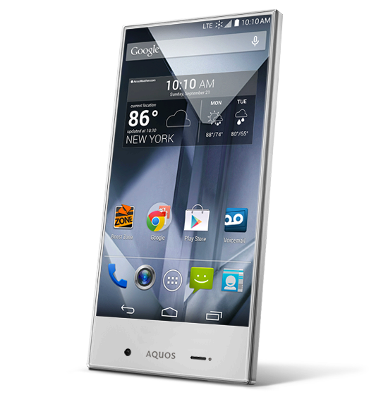 Top Smartphones to Buy - The Affordables - Sharp Aquos Crystal