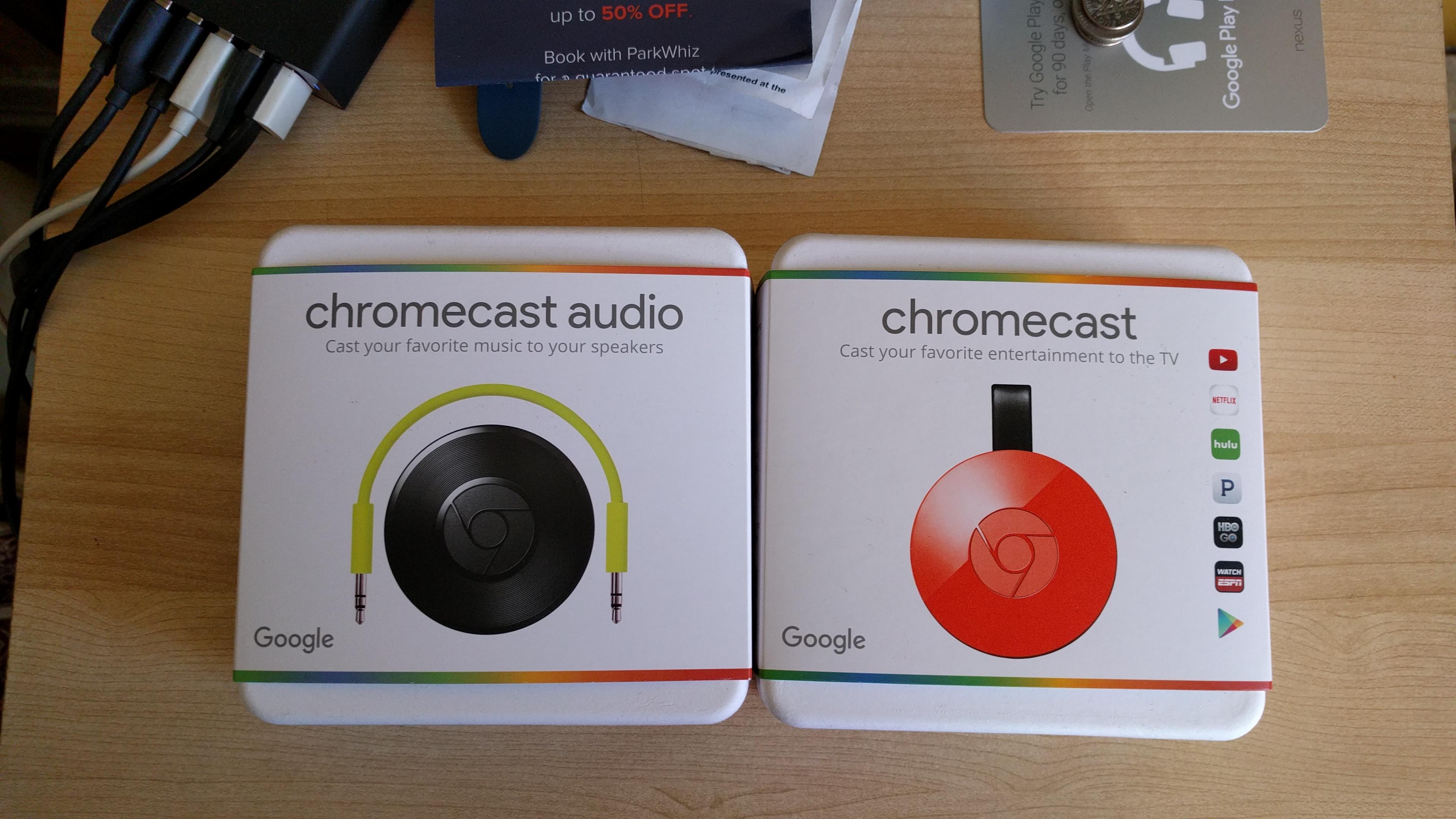 Chromecast-ChromecastAudio