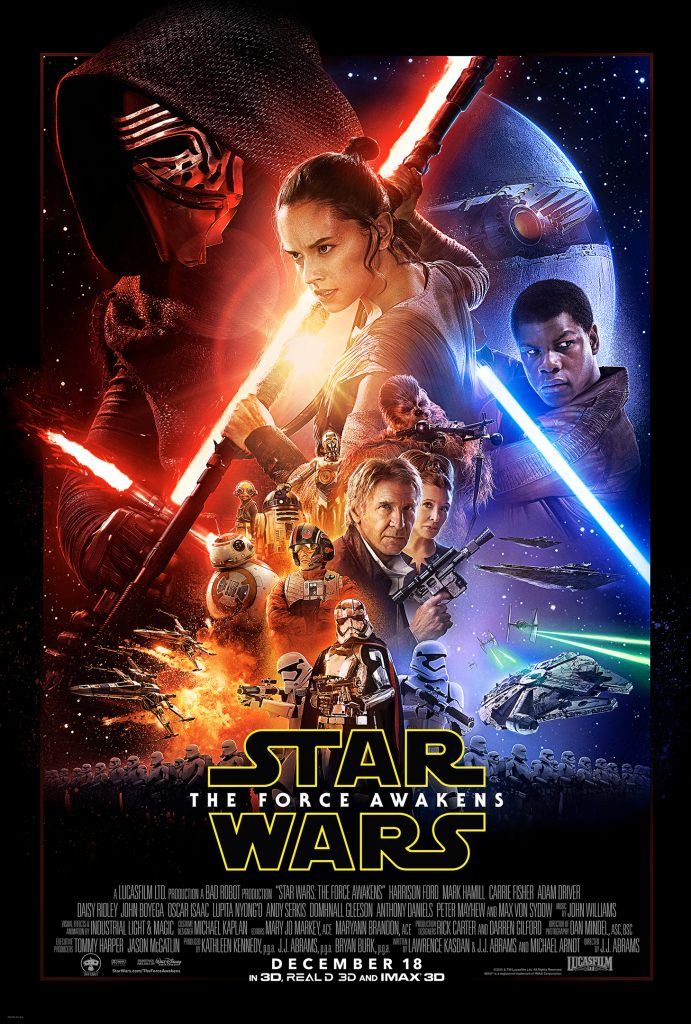 star wars theatrical poster.