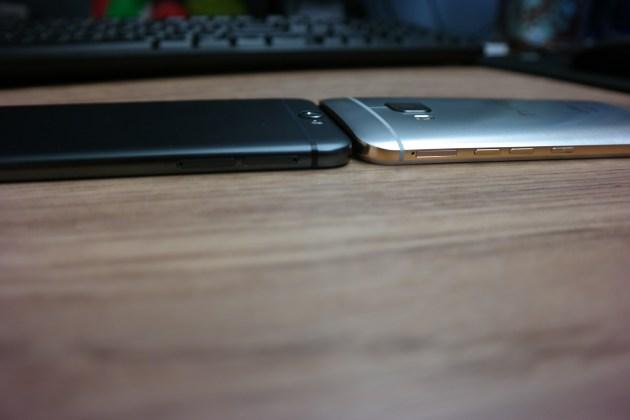 HTC One M9 A9 Side