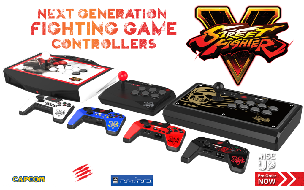 Street Fighter V Mad Catz Controllers (2)