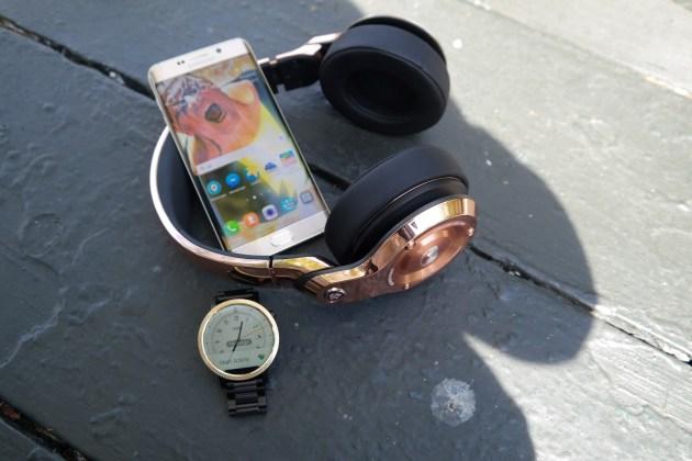 Monster 24K Headphones Rose Gold Combo