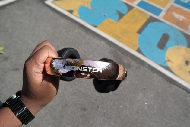 Monster 24K Headphones Rose Gold Headband