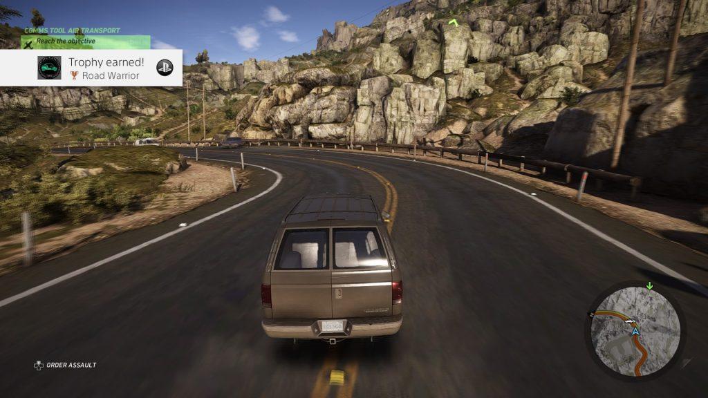 Tom Clancy Ghost Recon Wildlands Driving